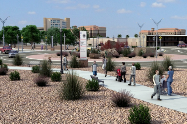 Texas CRCP Roundabout